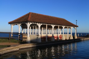 Victorian Shelter by the Boating Lake