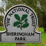 Sheringham Park National Trust Sign