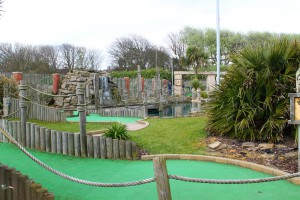 Adventure Island Crazy Golf in Mundesley