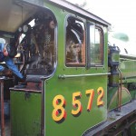 Steam Engine B12 8572 at Sheringham Station