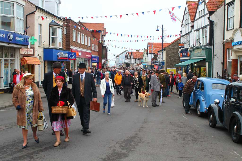 The Prairie Cottage Sheringham Sheringham 1940s Weekend 2014